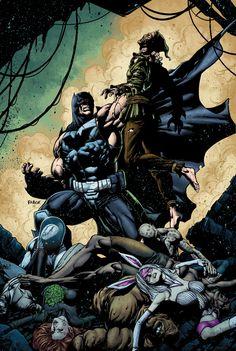 Forever Evil: A.R.G.U.S. #6 - Bane vs Scarecrow by Jason Fabok *
