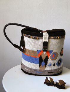 Mocila Bag  Handmade  Bag  Crochet bag  Hand Bag by MaryUniqueDoll