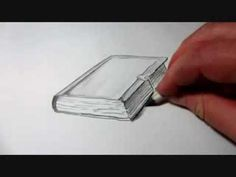 How To Draw A Book - YouTube