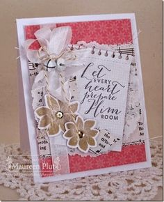 Maureen Plut: Buttons & Bling – December Rewind - 12/9/14  (Pin#1: Christmas: Vintage.  Pin+: Christmas: Religious)