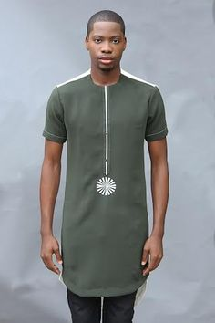 "Nigerian Fashion Label FemyToys Debuts Rain/Harmattan 2015 Collection ""Geometry By Toys"" Nigerian Men Fashion, African Men Fashion, Africa Fashion, Mens Fashion, African Models, African Attire, African Wear, African Dress, African Clothing For Men"