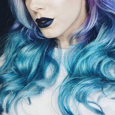 "1,355 Likes, 2 Comments - lovescenehair (@_lovescenehair_) on Instagram: ""@leighdickson  #leighdickson #hair #hairstyle #ombrehair #dipdye #coloredhair #dyedhair #cute #girl…"""