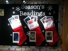 December high school English bulletin board