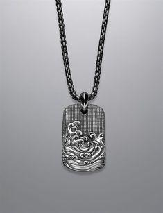 Men's Tag Necklaces | Men's Jewelry | David Yurman