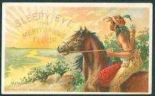 Old Sleepy Eye Flour Advertising Postcard ca.1906