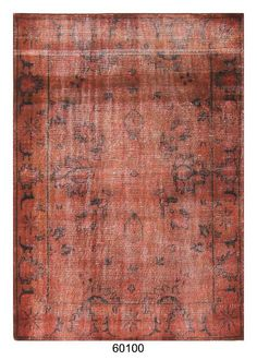 Hand-Knotted Woollen Antolia Vintage Carpets Rugs with & without Over-Dyed by FAIZAN INTERNATIONAL - INDIAN