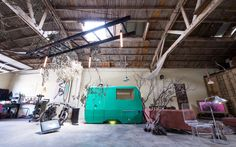 This spacious loft style industrial warehouse venue is available as a filming location for photoshoots and events. It has high vaulted ceilings, exposed brick, bohemian and vintage decor.  It has plenty of natural light during the day and feels magical at night with beautiful lighting.