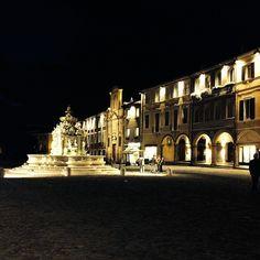 Piazza del Popolo, Cesena - Instagram by alessandro_pla
