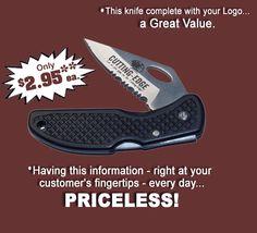 LOGO KNIFE!