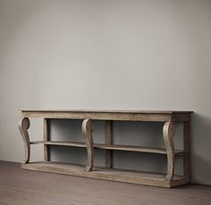 Giles large console table