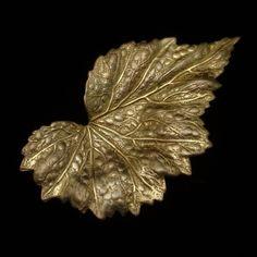 Leaf Pin Vintage Miriam Haskell