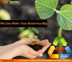 SEO make your business big brand.