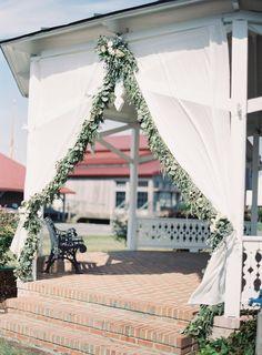 Elegant meets nautical decor: http://www.stylemepretty.com/2015/10/12/nautical-summer-wedding-in-maryland/   Photography: Michael and Carina - http://www.michaelandcarina.com/