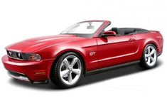 red sports convertible mustang - Google Search