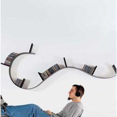 Bookworm wandplank | Kartell