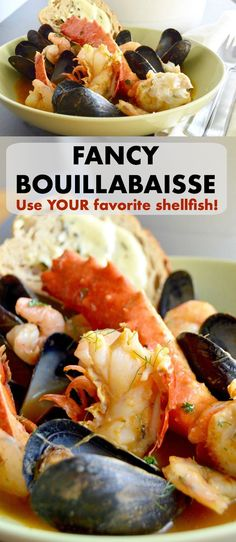Fathers Day Meal, Fancy Bouillabaisse is full of shrimp, lobster, crab and all the good things that make a great romantic meal! Ready in less than 45 minutes is just a bonus!