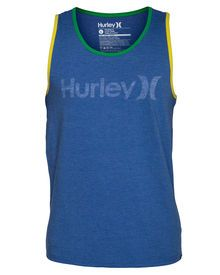 Brazil One And Only Push Through Mens Tanks | Hurley