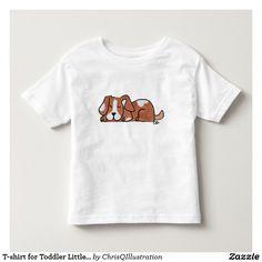 T-shirt for Toddler Little Puppy