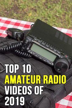 Top Ten Amateur Radio Videos of 2019 New Technology Gadgets, Energy Technology, Portable Ham Radio, Ham Radio License, Ham Radio Operator, Ham Radio Equipment, Radio Channels, Ham Radio Antenna, Education Humor