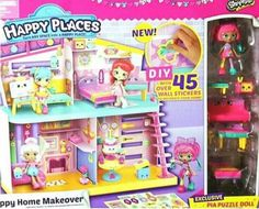 Happy Places™ Shopkins Happy Home Playset : Target Shopkins Playsets, Diy Shopkins, Shoppies Dolls, Christmas Presents For Her, Christmas Gifts, Moose Toys, Monster High Birthday, Cool Toys For Girls, Doll Stands