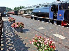 The North Norfolk Railway Station at Sherringham