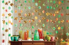 This floral garland brings a dose of color to your drink table. The Oh Joy for Target collection launches online and in stores March 16.
