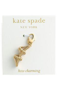 Women's kate spade new york 'how charming' novelty charm - Clear- Brooklyn Bridge Charm