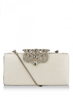 FOREVER NEW Clutch With Embellished Clasp purchase from koovs