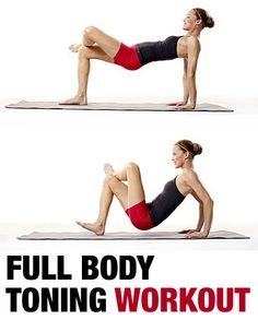 Full Body Toning Workout – Firm Up Fast!