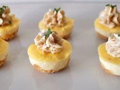 recette de cuisine minis Cheesecakes salés au boursin Plus