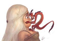You're not a #princess, you're a #Khaleesi. #GameOfThrones #Mulan