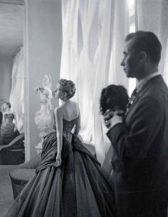 Nancy and Charles James by Cecil Beaton, 1955
