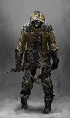 Dead Space 3 Fodder Ennemy Concept Art #game #design