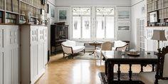 Huikean kaunis jugend-koti Katajanokalla. € 1 360 000, 227 m2. Kruunuvuorenkatu 7 A, Helsinki. Betjäning på svenska. Service in English