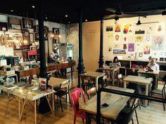Swinton & Grant. Miguel Servet, 21. Zona Embajadores. Cafe y galeria de arte