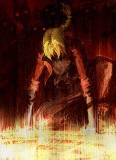 Full Metal Alchemist - Edward Elric - I'm running across some awesome FMA art today. Otaku Anime, Manga Anime, Fanarts Anime, Anime Characters, Anime Art, Fantasy Characters, Full Metal Alchemist, Der Alchemist, Fullmetal Alchemist Brotherhood