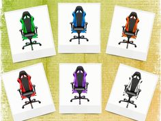 dxracer-black-big and tall office chairs-comfortable office chairs
