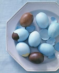 Favorite Pin of the week - Making REAL Chocolate Easter Eggs! via @Martha Stewart