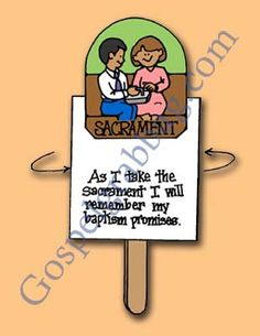 The Sacrament Reminds Us of Our Covenants, Primary Lesson Helps, Primary 3 CTR-B, Lesson 33