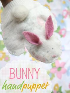 How To: Bunny Hand Puppet