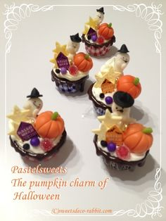 Cold Porcelain, New Pins, Modeling, Pumpkin, Clay, Sweets, Facebook, Halloween, Desserts
