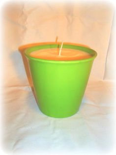 Huge soy wax candle, Coconut Lime scented