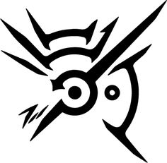 This is the symbol that the Outsider brands you with in the game Dishonored. Dishonored copyright Bethesda Mark of the Outsider Future Tattoos, New Tattoos, Body Art Tattoos, Cool Tattoos, Gamer Tattoos, Cool Symbols To Draw, Dishonored Tattoo, Dishonored Symbol, Simbols Tattoo