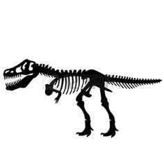 dinosaur bones clipart clipart panda free clipart images art rh pinterest com Dinosaur Footprint Clip Art T-Rex Dinosaur Clip Art