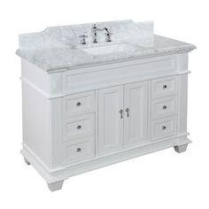 """KBC Elizabeth 48"""" Single Bathroom Vanity Set"""