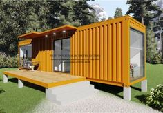 , Find Details about Container House, Modular House from Modular Ecomonic Good Quality Mobile Modular Shipping Container House Apartment. Jiangxi HK Prefab Building Co. Container Shop, Storage Container Homes, Building A Container Home, Container Buildings, Container Architecture, Sustainable Architecture, 40ft Container, Cargo Container, Shipping Container Design