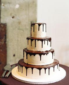Chocolate Wedding Cakes  #weddingcake #wedding