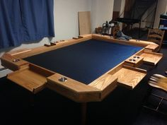 Lovely Tedu0027s Choice For Gaming Table  My Thought: Make Fold Outs Drawers Instead  For People To Keep Things In.