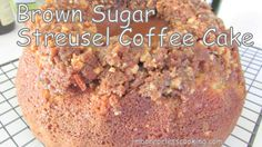 The menu for the Bridal Breakfast was Blueberry Crumb Coffee Cake, Brown Sugar Streusel Coffee Cake, Strata's, Fruit Salad, Juices and Coffee. This is a wonderful coffee cake, the recipe is from my friend Debi from Recipes for My Boys....