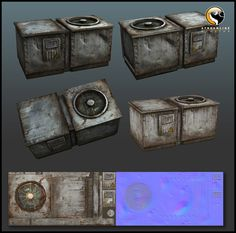 Terminator Salv_AC Unit by Masakari666.deviantart.com on @deviantART